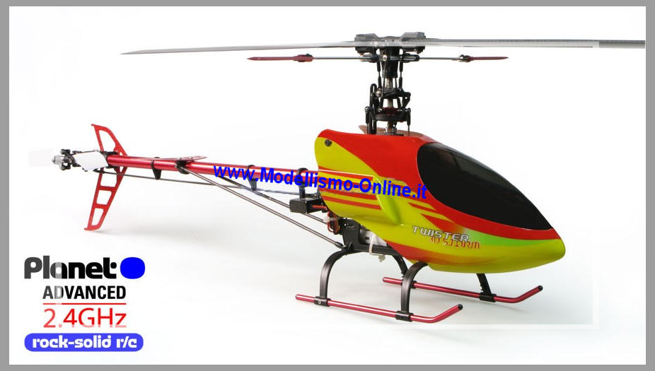 Twister 3D storm brushless  2,4GHz MODE1 Planet  - Clicca l'immagine per chiudere