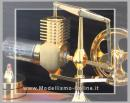 Stirling Engine 24kt gold Plated